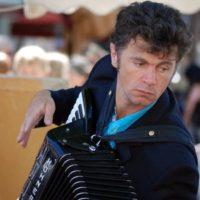 Gabriel Levasseur, accordéon