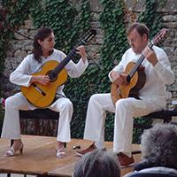 Duo Affretando, guitares